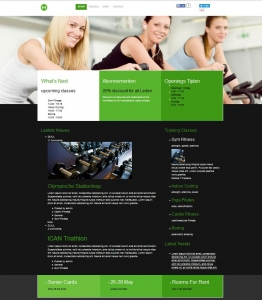 webdesigns-Sportschool-fitness